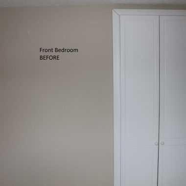 Annetta stack BEFORE FRONT BEDROOM.  pearl white