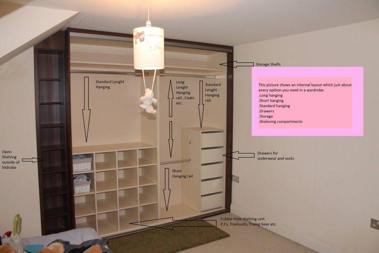 Internal layout in detail.